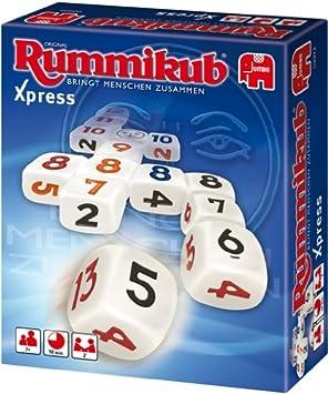 Jumbo Spiele 03972 Rummikub Xpress - Juego de Dados [Importado de Alemania]: Amazon.es: Juguetes y juegos