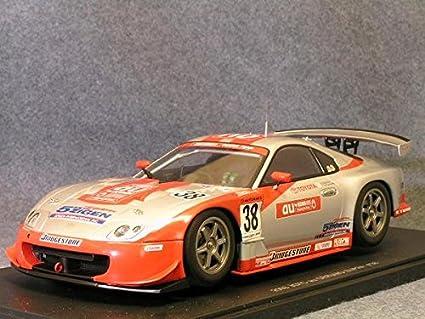 Toyota Supra Diecast Car Model 1/18 Super GT 2005 Zent Cerumo #38 Autoart