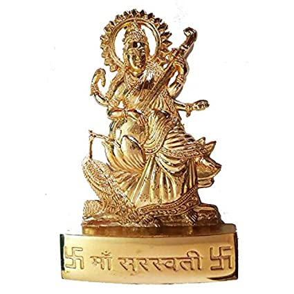 a2237517479 Buy Salvus App SOLUTIONS Metal Handmade Maa Saraswati Statue Online at Low  Prices in India - Amazon.in