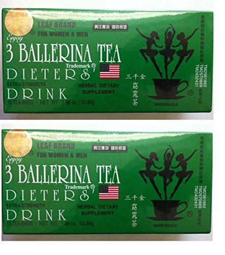 3 Ballerina thé (pack de 2)