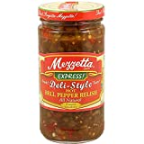 Mezzetta Express Deli-Style Hot Bell Pepper Relish, 12-ounce (Pack of 6)