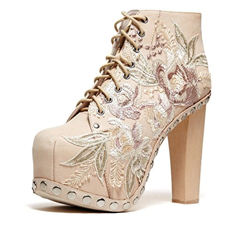 Cold Feet by Jeffrey Campbell Lita Floral', natural, 9.5