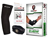 #2: Tennis Elbow Brace – Copper Compression Elbow Sleeve. DashSport: The ORIGINAL Elbow System for Complete Support and Pain Relief from Golfer and Tennis Elbow