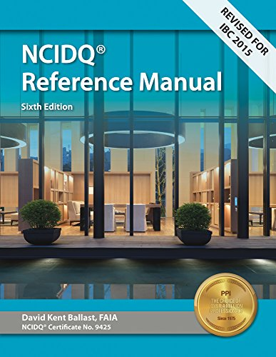 Pdf Engineering Interior Design Reference Manual: Everything You Need to Know to Pass the NCIDQ Exam, 6th Ed