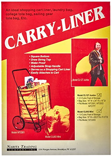 Price comparison product image Easy Wheels Hooded Mini Carry-Liner, Yellow