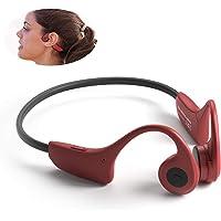 RSGK 8G MP3 Speler, Bone Conduction Bluetooth Headset, Titanium Legering Lichtgewicht Ontwerp 33g, IPX5 Waterdicht…