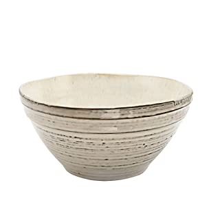 YMXLJF Cocina y Comedor Tazón de Fuente de Fideos de tazón de Fuente de cerámica roscada Cuenco de los tallarines