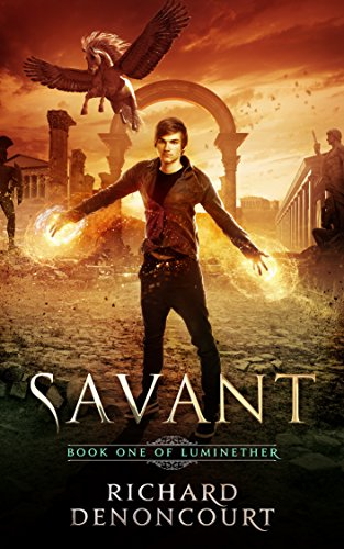 Savant: Book 1 of the Luminether Epic Fantasy Series cover