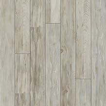 "American Concepts BL09 Berkeley Lane Whitewashed Block Pine Laminate Flooring Planks, 14 sq. ft. Per Carton (8 Pack), 12mm x 4.96"" x 50.79"""