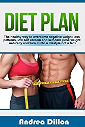 Diet plan: the healthy way to overcome negative weight loss patterns, low self esteem and self-hate (lose weight naturally and turn it into a lifestyle ... and fitness, self-help) (English Edition)