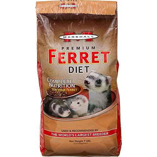 Marshall Premium Ferret Diet, 7-Pound Bag - Premium Ferret Food