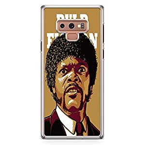 Loud Universe Jules Winnfield Retro Movie Samsung Note 9 Case Pulp Fiction Samsung Note 9 Cover with Transparent Edges