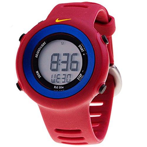 6f32ad72785a Nike Reloj analogico para Chico de Cuarzo con Correa en Caucho WD0139689   Amazon.es  Relojes