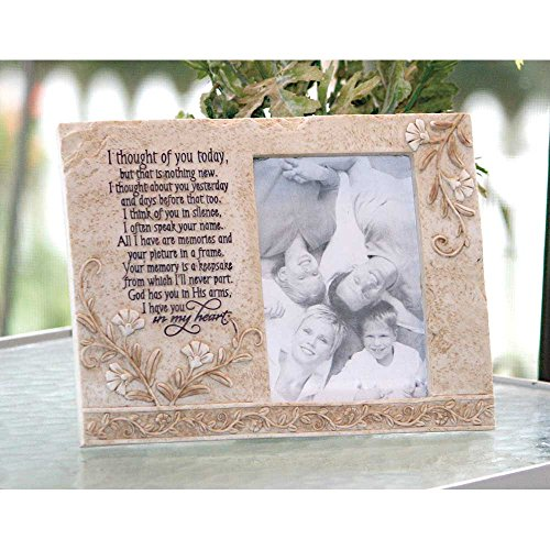 (Jozie B 246202 Thought of You Today in Memory Photo Frame)
