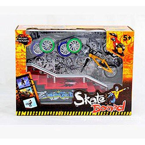 Hometall Finger Bike Set, Mini Skate Fingerboards