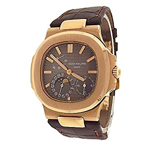 Patek Philippe Nautilus automatic-self-wind mens Watch 5712R-001 (Certified Pre-owned)