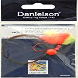Danielson Rig Ez Drift Fishing Equipment, Red/Chrome