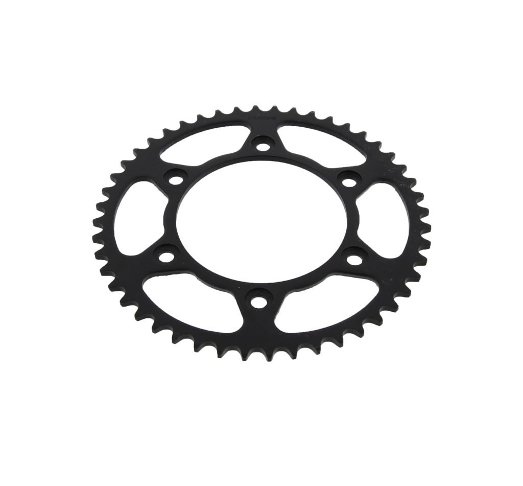 1991-2000 Fits Honda XR600R XR 600 R 48 Tooth Rear Black Sprocket Hardened Steel