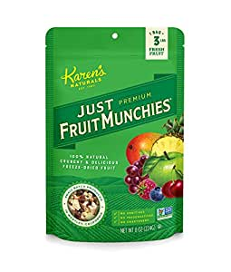Karen's Naturals Just Tomatoes, Just Fruit Munchies 8-Ounce Large Pouch (Pack of 2) (Packaging May Vary)