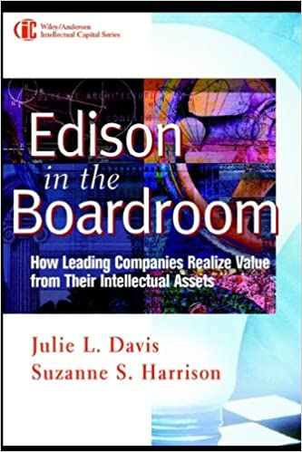 Amazon edison in the boardroom how leading companies realize from their intellectual assets intellectual property general law accounting finance management licensing special topics ebook julie l davis fandeluxe Gallery