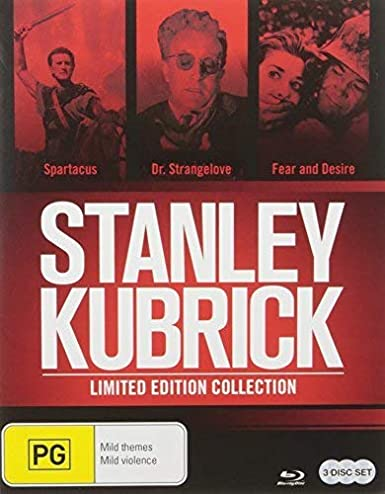 Stanley Kubrick Blu-Ray Collection Edizione: Australia 3 Blu-Ray ...