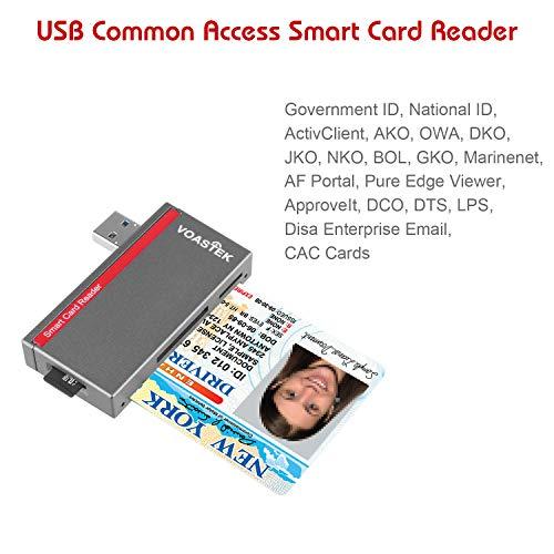 VOASTEK USB 3 0 Smart Card Reader   Electronic ID Card