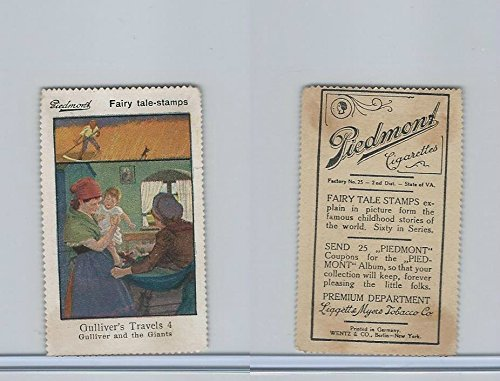 - T333 Piedmont, Fairy Tale Stamps, 1910, Gulliver Travels 4
