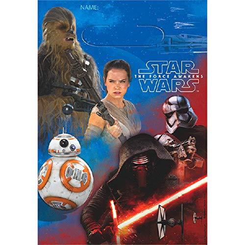 Amscan Star Wars Episode VII Folded Loot Bag | 24 Count for $<!--$11.92-->
