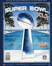 NFL Super Bowl XLI Official Program (Super Bowl XLI Official Program, 41) (Paperback)