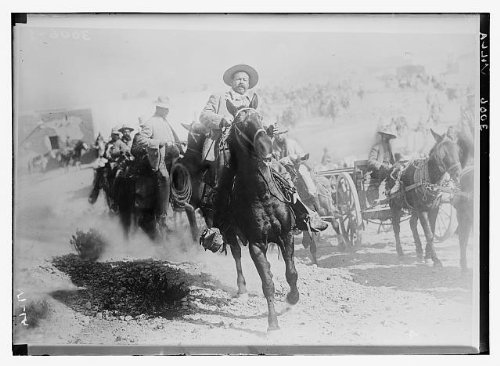 Mexican Revolution Poster (Photo: General Francisco Pancho Villa,1877-1923,horseback,Mexican Revolution,Chihuahua)