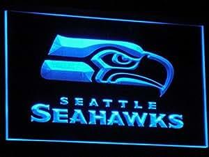 B242(a) -B Seattle Seahawks Bar Pub Luz de Neón Signs, Modelo: 491862816, Tools & hardware Store