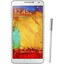 Samsung Galaxy Note 3 N900A 32GB Unlocked GSM 4G LTE Quad-Core Smartphone with 13MP Camera, White (Renewed)