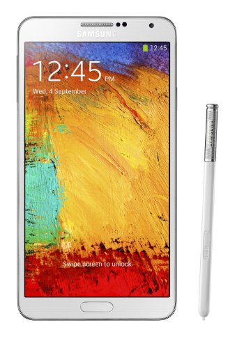 Samsung Galaxy Note 3 N9005 32GB 4G LTE WHITE Unlocked International Version]()