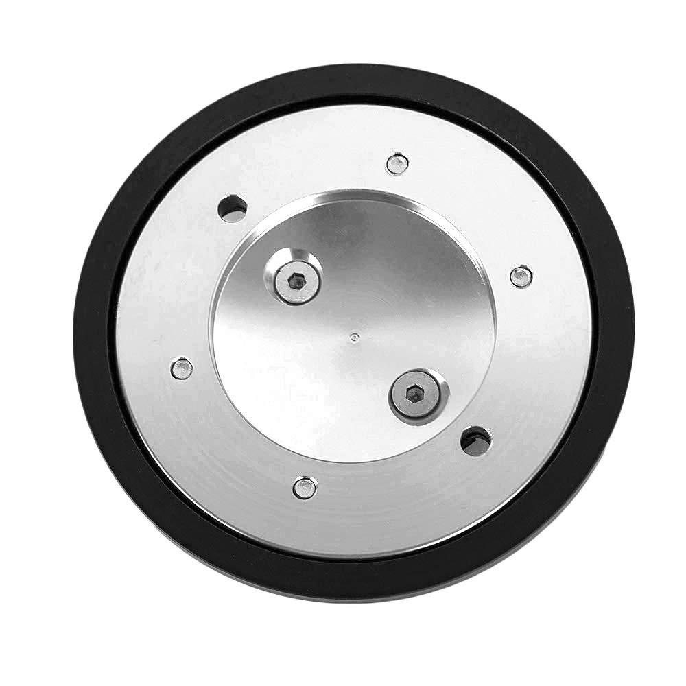 CNC Aluminium und POM Silber Motorrad Motor schutz abdeckung f/ür Yamaha Tmax 530 2012-2016