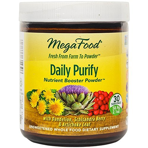Cheap MegaFood – Daily Purify Booster Powder, Supports Liver Health with Replenishing Nutrients, Gentle Toxin Cleansing, Vegan, Gluten-Free, Non-GMO, 30 Servings (2.1 oz) (FFP)