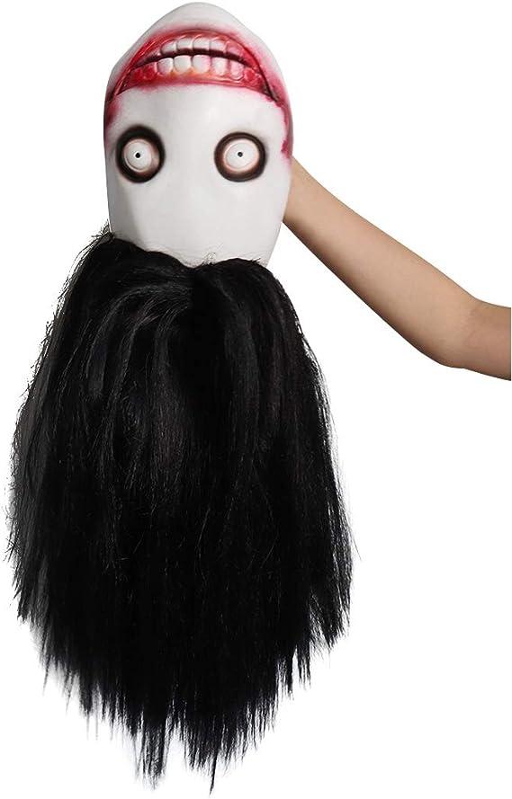 Máscara de látex para adultos Jeff The Killer Mask, espeluznante ...