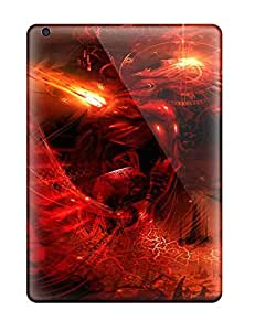 Awesome JDHackX17707wrxjn Heimie Defender Tpu Hard Case Cover For Ipad Air- Trajectories Abstract Battle Cosmic Warped Reality Sci Fi People Sci Fi