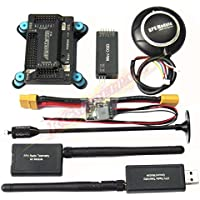 Hobbypower APM2.8 Flight Controller NEO-7M GPS 3DR 915Mhz Telemetry Mini OSD Module Power Module for FPV Quadcopter Multirotor