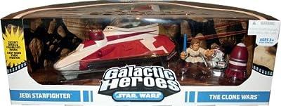 Star Wars Galactic Heroes: The Clone Wars Jedi Starfighter