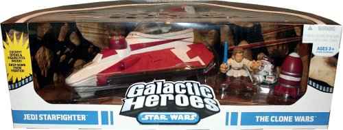 Star Wars Galactic Heroes: The Clone Wars Jedi (Galactic Heroes Game)