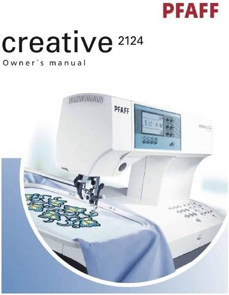 Descargar Pdf-File Pfaff Creative 2124 máquina de coser: Amazon.es ...