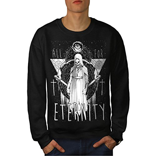 All For Eternity Fear Evil Queen Men NEW S Sweatshirt | Wellcoda (Voodoo Queen Costume)