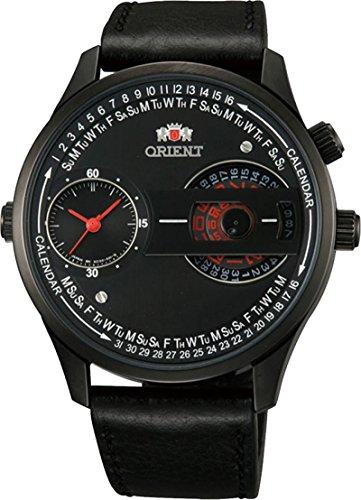 Orient #FXC00002B Men's Dual Time Zone Automatic Quartz Combination Analog Watch
