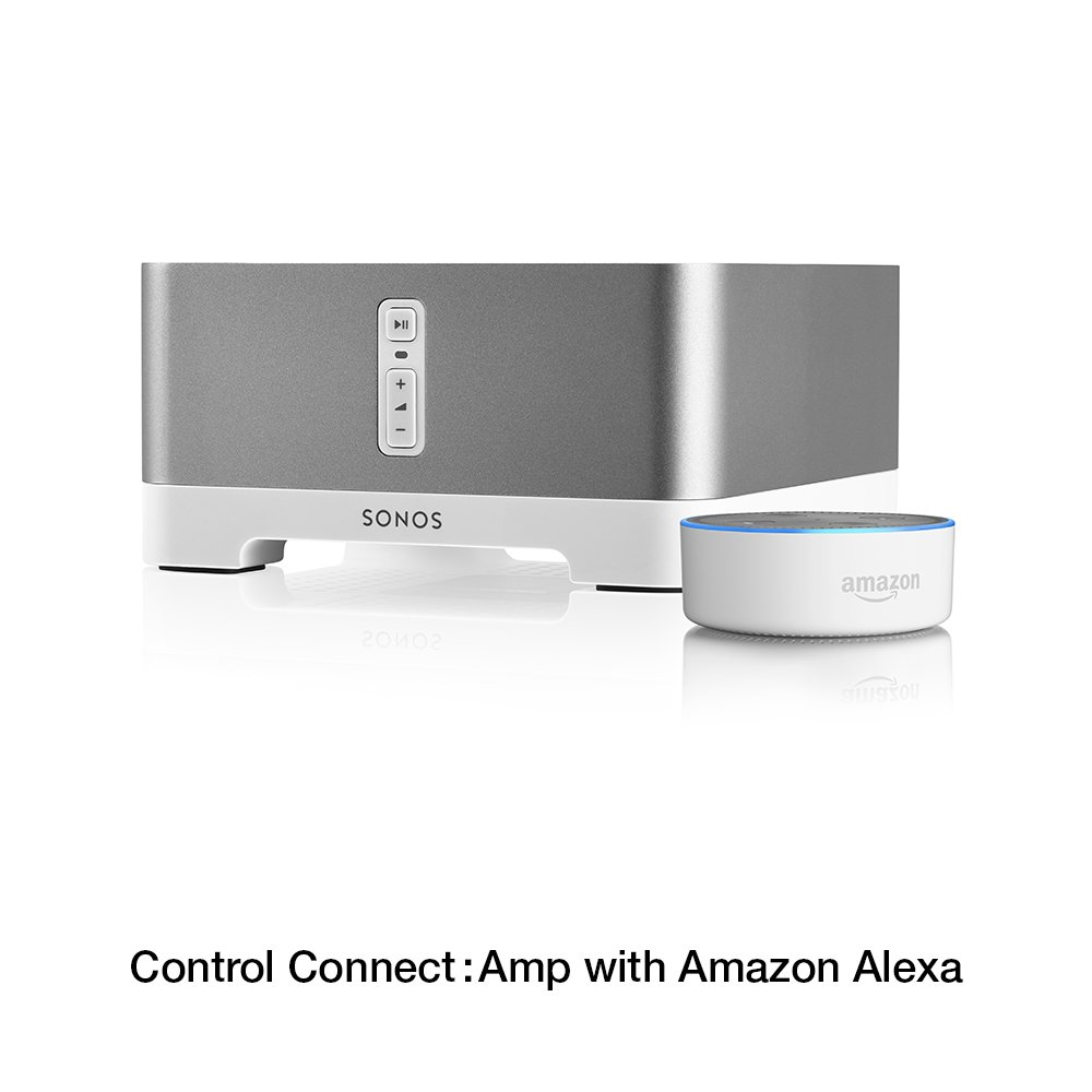 Sonos Connectamp Wireless Home Audio Amplifier For 6 Speakers 4 Channel Amp Wiring Diagram Streaming Music Amazon Certified And Works With Alexa Theater