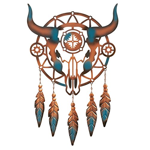 Southwest Cattle Skull Dreamcatcher Multi