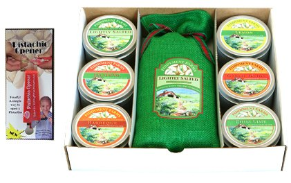 Fiddyment Farms Deluxe pistachio lovers Gift Box with Opener