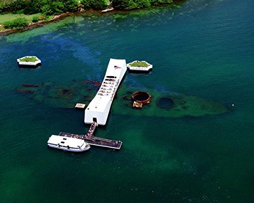 (USS Arizona Memorial at Pearl Harbor 8