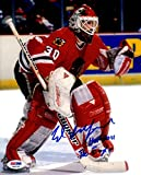 "Itp Ed Belfour ""hof 2011 & The Eagle"" Signed Blackhawks 8x10 Photo Eddie - PSA/DNA Certified - Autographed NHL Photos"