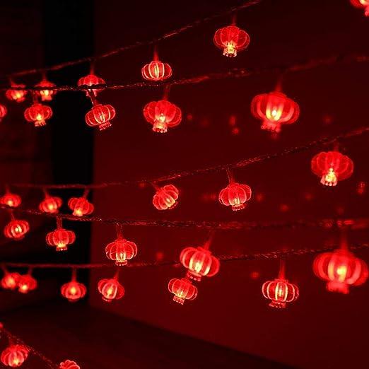 Luces de hadas luces led Año Nuevo chino Luces de nudo chino ...