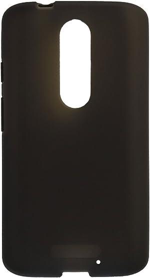 Verizon Silicone Cover Protective Case for Motorola Droid Turbo 2 - Matte Black